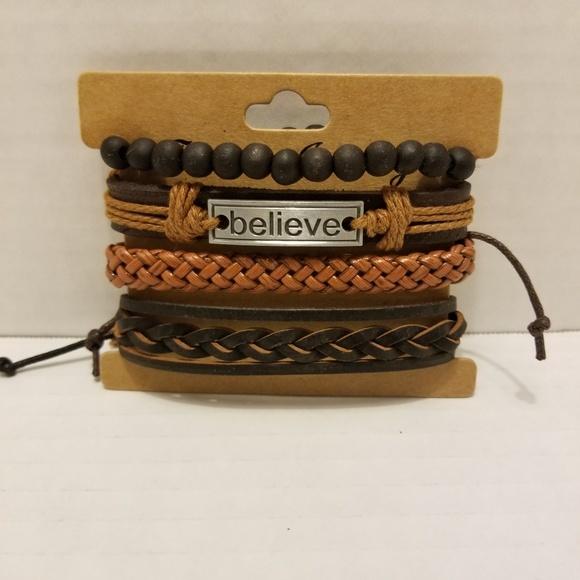 Jewelry - Real leather wrist wrap